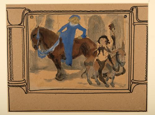 Edelvrouwe te paard
