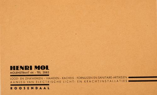 Henri Mol, Roosendaal
