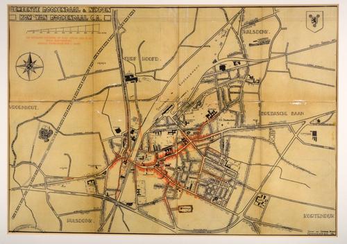 Kadastrale kaart Roosendaal