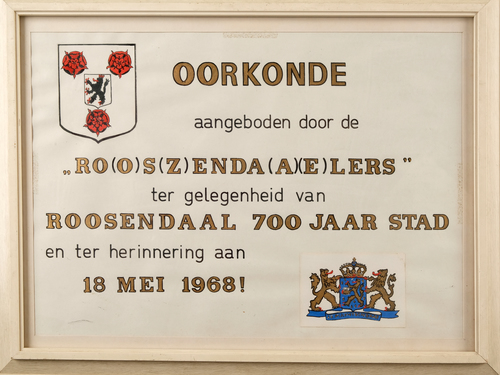 Roosendaal 700 jaar stad