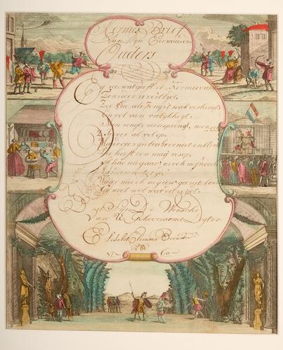 Kermisbrief uit 1760