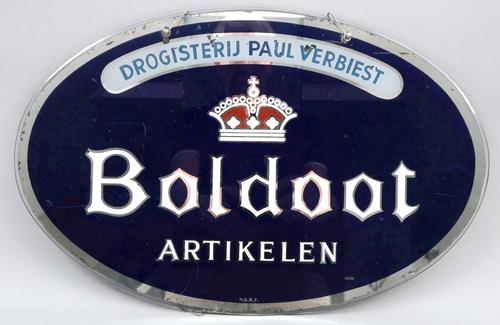 Reclamebord Boldoot