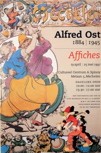 Tentoonstelling Alfred Ost in Mechelen