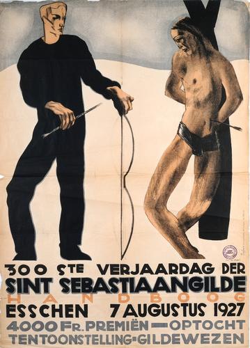 Affiche van het Sint Sebastiaansgilde