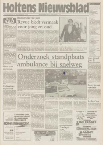 Holtens Nieuwsblad 1993-08-26
