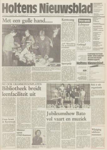 Holtens Nieuwsblad 1984-12-06