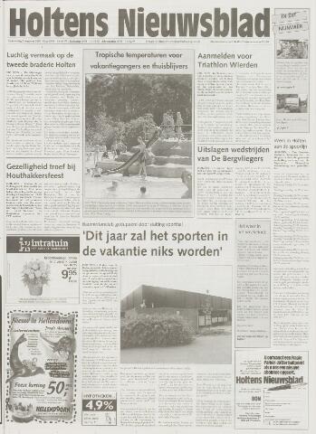Holtens Nieuwsblad 2001-08-02