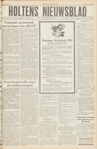 Holtens Nieuwsblad 1956-12-01