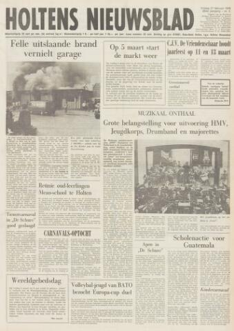 Holtens Nieuwsblad 1976-02-27