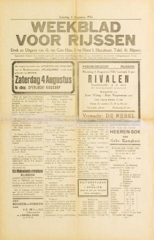 Weekblad voor Rijssen 1934-08-04