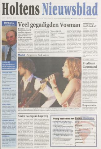 Holtens Nieuwsblad 2007-12-04