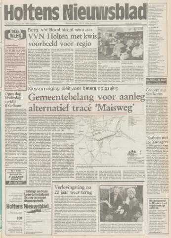 Holtens Nieuwsblad 1992-02-13