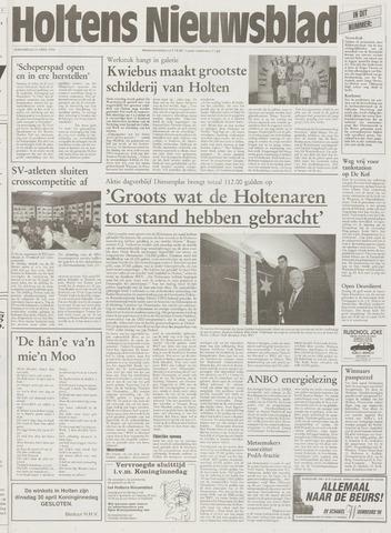 Holtens Nieuwsblad 1996-04-25