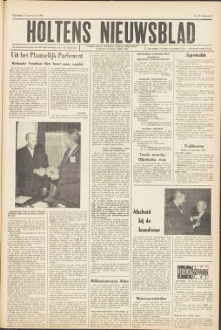 Holtens Nieuwsblad 1964-09-12