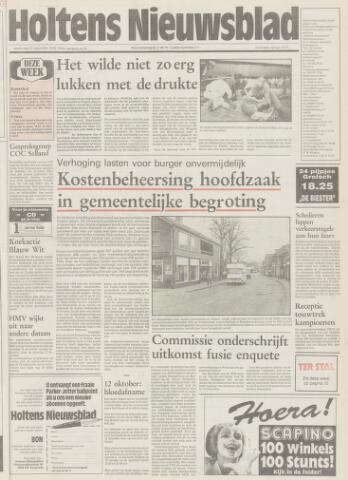 Holtens Nieuwsblad 1992-09-24