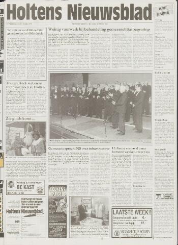 Holtens Nieuwsblad 1998-11-12