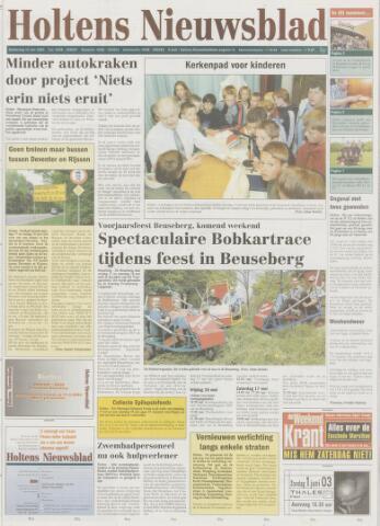 Holtens Nieuwsblad 2003-05-15