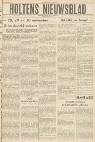 Holtens Nieuwsblad 1957-11-02