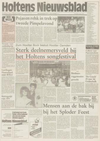 Holtens Nieuwsblad 1991-08-15
