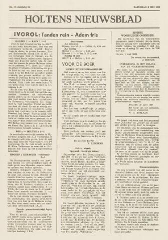 Holtens Nieuwsblad 1959-05-02