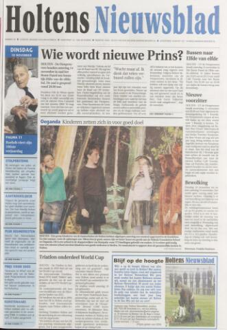 Holtens Nieuwsblad 2009-11-10