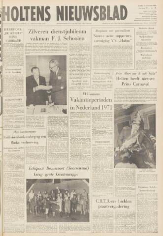 Holtens Nieuwsblad 1970-11-13