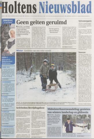 Holtens Nieuwsblad 2009-12-22