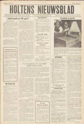 Holtens Nieuwsblad 1962-04-07