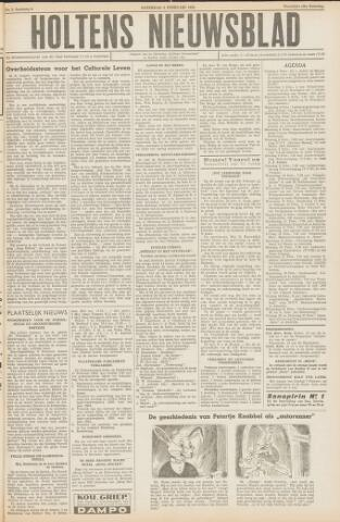 Holtens Nieuwsblad 1954-02-06