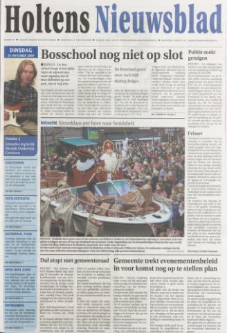 Holtens Nieuwsblad 2009-11-24