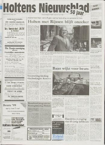 Holtens Nieuwsblad 1999-04-22