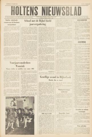 Holtens Nieuwsblad 1962-03-10