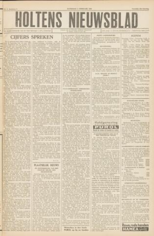 Holtens Nieuwsblad 1956-02-04