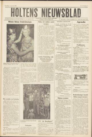Holtens Nieuwsblad 1964-08-01