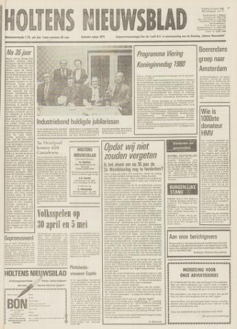 Holtens Nieuwsblad 1980-04-25