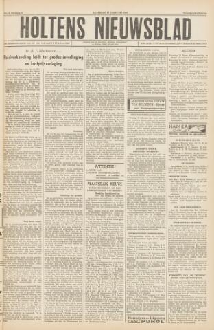 Holtens Nieuwsblad 1956-02-25