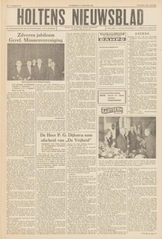 Holtens Nieuwsblad 1958-01-11