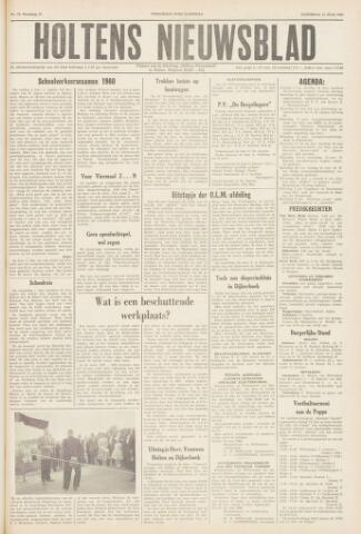Holtens Nieuwsblad 1960-06-11