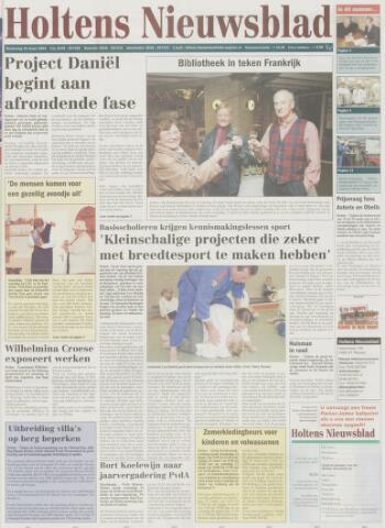 Holtens Nieuwsblad 2004-03-18