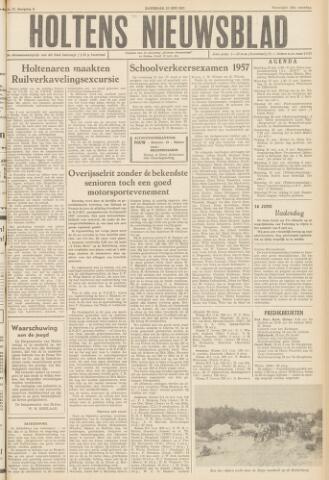 Holtens Nieuwsblad 1957-05-25
