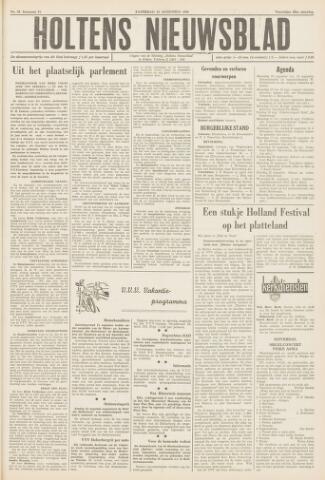 Holtens Nieuwsblad 1959-08-15