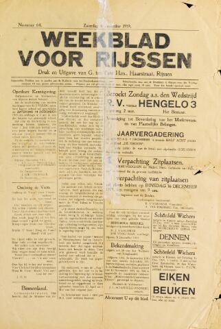 Weekblad voor Rijssen 1919-12-06
