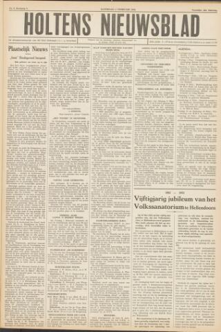 Holtens Nieuwsblad 1952-02-02