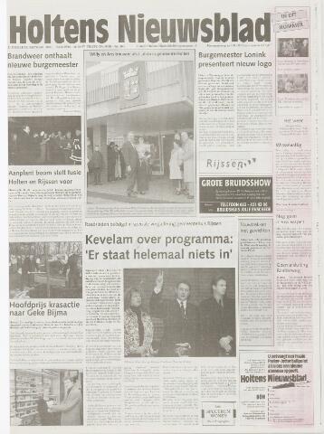 Holtens Nieuwsblad 2001-01-04