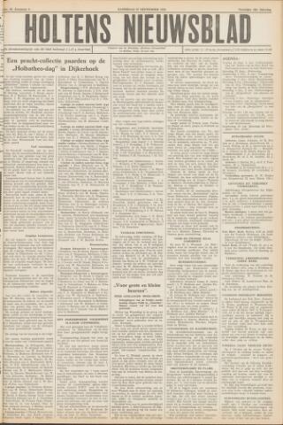 Holtens Nieuwsblad 1952-09-27