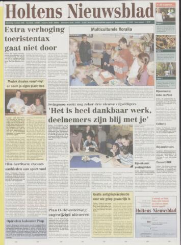 Holtens Nieuwsblad 2003-10-09