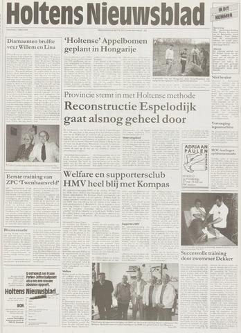 Holtens Nieuwsblad 1996-05-17