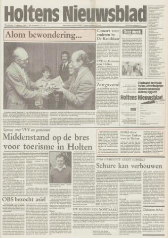 Holtens Nieuwsblad 1985-10-10