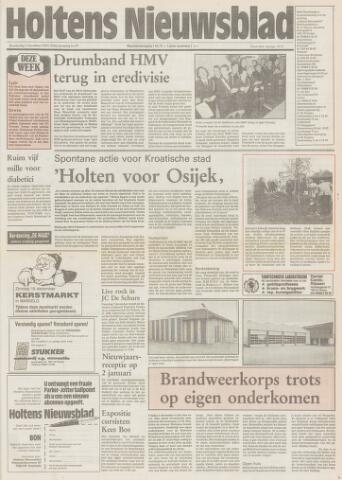 Holtens Nieuwsblad 1991-12-05