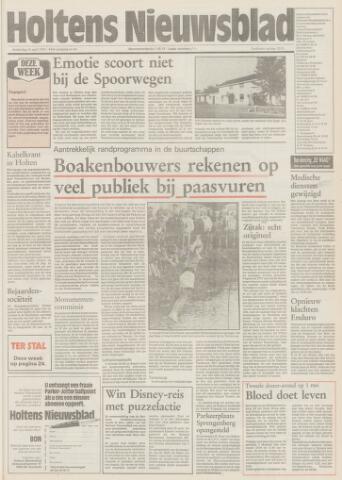 Holtens Nieuwsblad 1992-04-16